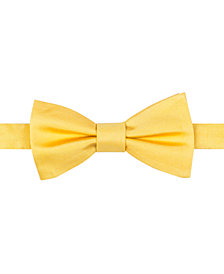 Tommy Hilfiger Pre-Tied Solid Bow Tie