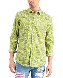 Men's Brit Ditsy Shirt, Created for Macy's