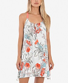 Tropical-Print Chemise Nightgown