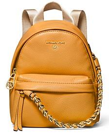 Slater Mini Leather Convertible Messenger Backpack