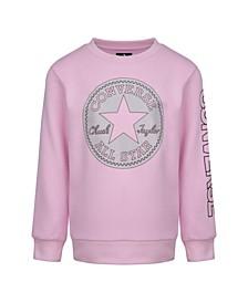 Big Girls Chuck Patch Sweatshirt