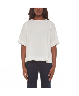 Women's Blouse with Wrap Detail