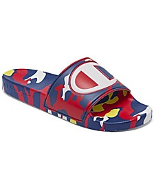 Men's IPO Camo Slide Sandals from Finish Line