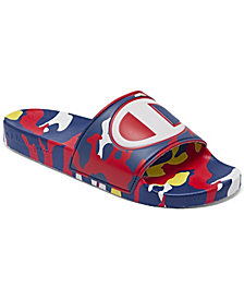 Champion Men's IPO Camo Slide Sandals from Finish Line