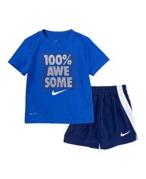 Nike TODDLER BOY AWESOME SHORT SET