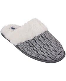 Women's Knit Clog Slipper