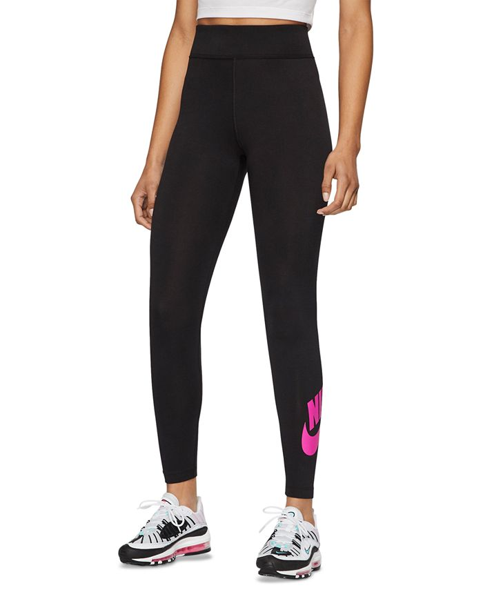 Nike - Sportswear Logo High-Waist Leggings