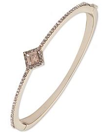 Silk Crystal Bangle Bracelet
