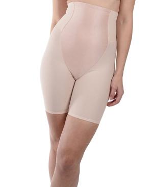 Women's Satin Front High Waist Long Leg Shaper