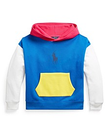 Big Girls Color-blocked Fleece Hooded Sweatshirt