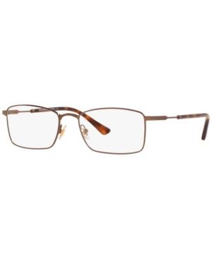 BB1073T Men's Rectangle Eyeglasses