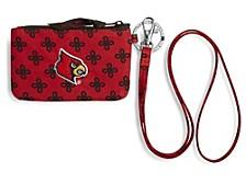 Louisville Cardinals Zip ID Lanyard