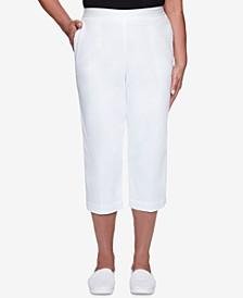 Petite Classics Pull-On Capri Pants