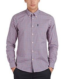 Men's Poplin Gingham Shirt