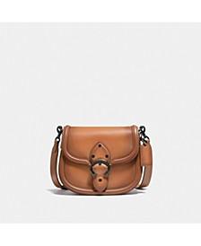 Glovetanned Leather Beat Saddle Bag