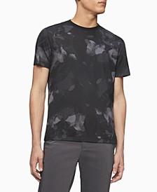 Men's Allover Camo Logo Crewneck T-shirt