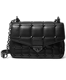 Soho Quilted Chain Leather Shoulder Bag