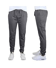 Men's Slim-Fit Classic Cotton Stretch Jogger Pants
