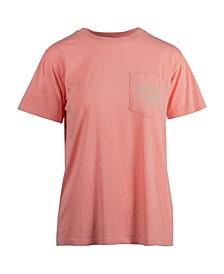 Women's Summer Stoke Fade Boyfriend Salt Wash Pocket T-shirt