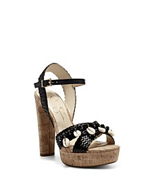 Women's Ivriele Embellished Platform Sandals