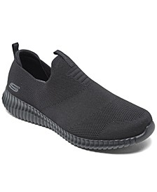 Men's Elite Flex - Wasick Wide Width Slip-on Walking and Training Sneakers from Finish Line