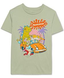 Juniors' Cartoon-Graphic T-Shirt