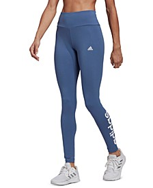 Women's Essentials High-Waisted Logo Leggings
