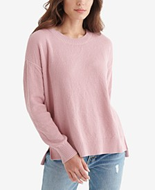 Blocked Solid Sweater