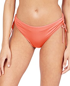 Juniors' Beach Classics Tie Bikini Bottoms