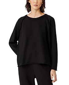 Organic Cotton Drop-Shoulder Top