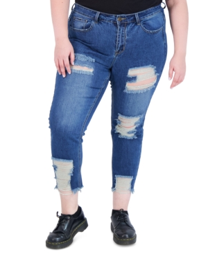 Trendy Plus Size Dream High-Rise Skinny Jeans