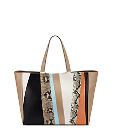 INC Michaelaa Patchwork Tote, Created for Macy's