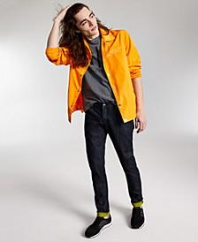 Men's Logo-Print Shirt Jacket , Created for Macy's