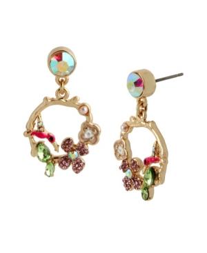 Hummingbird Gypsy Hoop Earrings