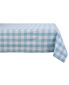 "Buffalo Check Tablecloth, 60"" x 120"""