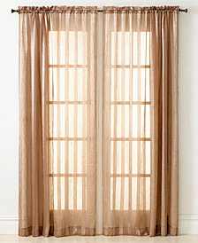 "Miller Curtains Sheer Striped Aria 51"" x 84"" Panel"