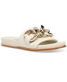 Women's Delay Mega-Chain Slide Sandals