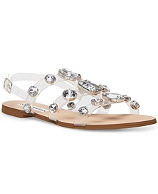 Women's Dallace Gemstone Vinyl Gladiator Sandals
