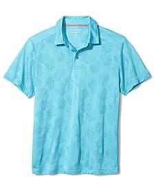 Men's Printed Palm Coast IslandZone Polo