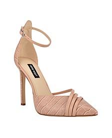 Women's Taunt Ankle Strap Stiletto Pumps