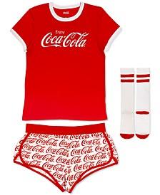 Coca-Cola 3pc Pajama Set