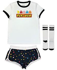 Pac-Man 3pc Pajama Set