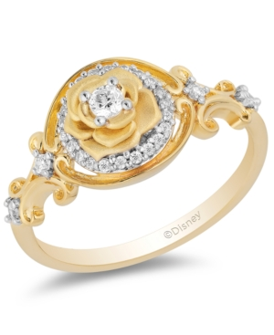 Diamond Belle 30th Anniversary Rose Ring (1/5 ct. t.w.) in 14k Gold