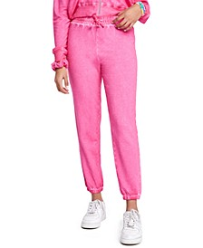 Juniors' Playa Burnout Jogger Pants