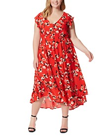 Trendy Plus Size Gabbie Printed Maxi Dress
