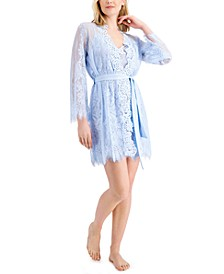 Lace Wrap Robe, Created for Macy's