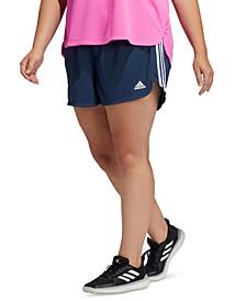 Plus Size Three-Stripe Shorts