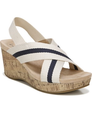 Lifestride Wedges LIFESTRIDE DREAM BIG STRAPPY WEDGE SANDALS WOMEN'S SHOES