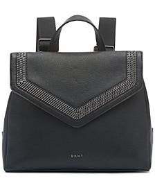Ziggy Convertible Leather Backpack