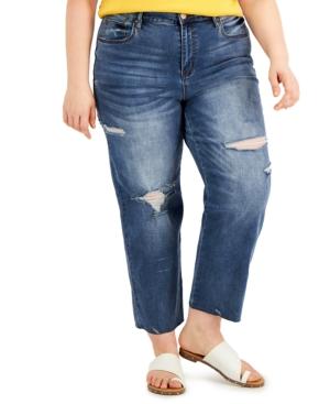 Trendy Plus Size Lorena Straight-Leg Jeans